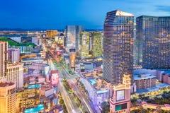 拉斯维加斯,内华达,美国都市风景 免版税库存图片