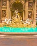 拉斯维加斯,美利坚合众国- 2016年5月05日:2016年10月05日的凯撒宫旅馆在拉斯维加斯 库存照片