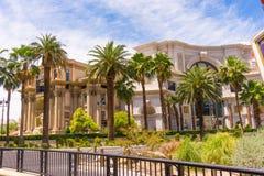 拉斯维加斯,美利坚合众国- 2016年5月05日:2016年10月05日的凯撒宫旅馆在拉斯维加斯 免版税图库摄影