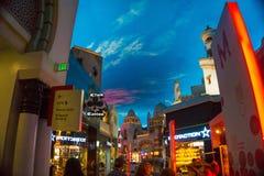拉斯维加斯,美国- 2016年5月06日:威尼斯式度假旅馆和赌博娱乐场 免版税库存照片
