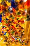 拉斯维加斯,美国- 2016年5月05日:手吹的玻璃花天花板在贝拉焦旅馆 免版税图库摄影