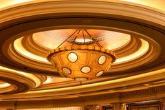 拉斯维加斯, NV - 2017年6月13日:Caesars宫殿旅馆内部 库存照片