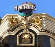 拉斯韦加斯大道, Harrahs旅馆,旅游胜地,内华达, 库存图片