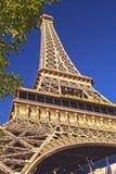 拉斯维加斯、内华达、2013年10月1日-巴黎旅馆和赌博娱乐场在拉斯维加斯,内华达被采取在下午2013年10月1日,美国 免版税图库摄影