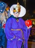 拉斯维加斯万圣夜游行 免版税图库摄影