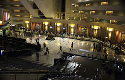 拉斯维加斯卢克索旅馆大厅 库存图片