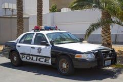 拉斯维加斯大城市警察局汽车 免版税库存图片