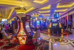 拉斯维加斯威尼斯式旅馆 免版税库存照片