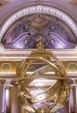 拉斯维加斯威尼斯式旅馆 图库摄影