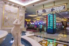 拉斯维加斯威尼斯式旅馆 免版税库存图片