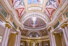 拉斯维加斯威尼斯式旅馆 库存图片