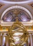 拉斯维加斯威尼斯式旅馆 库存照片