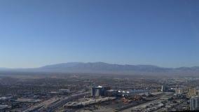 拉斯维加斯市视图 库存图片
