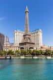 巴黎拉斯维加斯旅馆和赌博娱乐场,拉斯维加斯,美国的看法 免版税库存照片