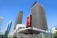 拉斯维加斯旅馆和赌博娱乐场 库存照片
