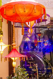 拉斯维加斯遮阳伞酒吧 库存照片
