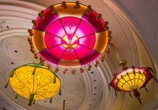 拉斯维加斯遮阳伞酒吧 免版税图库摄影