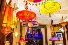 拉斯维加斯遮阳伞酒吧 免版税库存图片