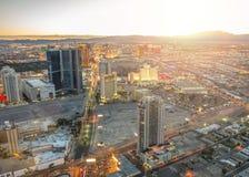 拉斯维加斯都市风景 库存照片