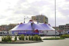 拉斯维加斯马戏场帐篷 库存照片
