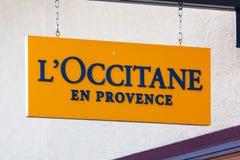 拉斯维加斯,内华达- 2016年8月22日, :L'Occitane En普罗旺斯Lo 免版税库存照片