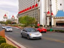 拉斯维加斯,内华达-石中剑酒店 免版税库存图片