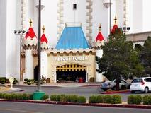 拉斯维加斯,内华达-石中剑酒店 免版税库存照片