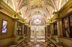 拉斯维加斯,威尼斯式旅馆 图库摄影