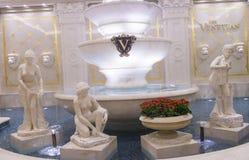 拉斯维加斯,威尼斯式旅馆 免版税库存照片