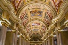 拉斯维加斯,威尼斯式旅馆 免版税图库摄影