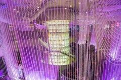 拉斯维加斯,枝形吊灯酒吧 免版税库存照片