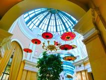 拉斯维加斯,美利坚合众国- 2016年5月06日:在Wynn旅馆和赌博娱乐场的内部 库存照片
