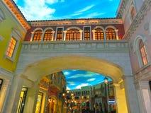 拉斯维加斯,美国- 2016年5月06日:威尼斯式度假旅馆和赌博娱乐场 免版税图库摄影