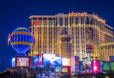 拉斯维加斯,行星好莱坞 免版税图库摄影
