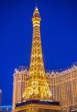 拉斯维加斯,巴黎旅馆 免版税库存图片