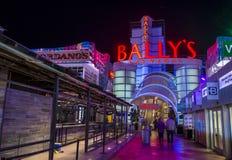 拉斯维加斯, Ballys旅馆 库存照片
