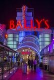 拉斯维加斯, Ballys旅馆 图库摄影