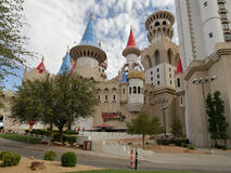 拉斯维加斯, Excalibur赌博娱乐场和旅馆 库存照片
