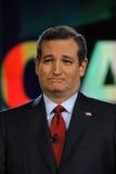 拉斯维加斯, NV - 12月15日:共和党总统候选人美国特德Cruz参议员CNN共和党总统辩论的在Ve 库存照片