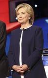 拉斯维加斯, NV - 2015年10月13日:(L-R)民主党总统辩论以候选人前国务卿和U为特色 S Senato 库存图片