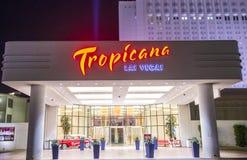拉斯维加斯, Tropicana 免版税库存照片
