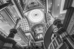 拉斯维加斯-大约2016年12月:论坛的内部在Caesars购物 论坛商店是一个主要商城我 免版税库存照片