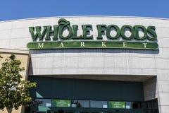 拉斯维加斯-大约2017年7月:整个食物市场 亚马逊宣布了协议买$13的整个食物 70亿V 图库摄影