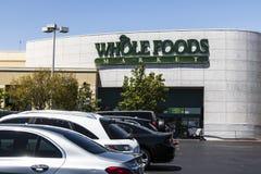 拉斯维加斯-大约2017年7月:整个食物市场 亚马逊宣布了协议买$13的整个食物 70亿VI 免版税库存图片