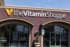 拉斯维加斯-大约2017年7月:维生素商店或TheVitaminShoppe零售购物中心地点我 库存图片