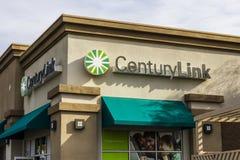 拉斯维加斯-大约2016年12月:CenturyLink消费者办公室VI 库存照片