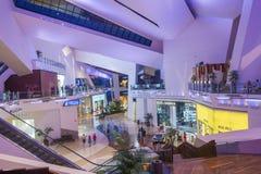 拉斯维加斯水晶购物中心 免版税图库摄影