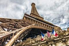 拉斯维加斯- 31 - 2017年5月-巴黎拉斯维加斯是旅馆和赌博娱乐场 免版税库存图片