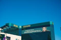 拉斯维加斯- 2013年12月13日:12月13日的拉斯维加斯赌博娱乐场 库存照片