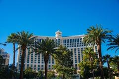 拉斯维加斯- 2013年12月13日:12月13日的拉斯维加斯赌博娱乐场 免版税库存图片